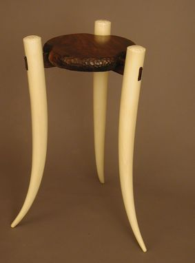 Custom Made Tusk Pedestal