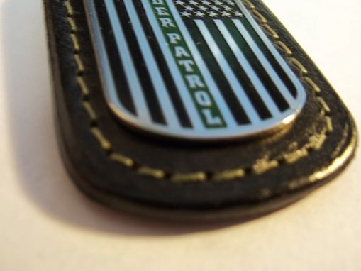 Custom Made Border Patrol Key Fob
