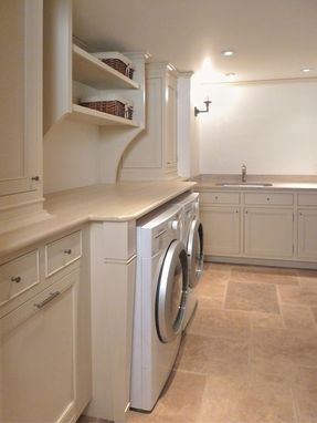Custom Made Laundry Room