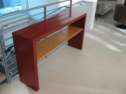 Custom Made Contemporary Console