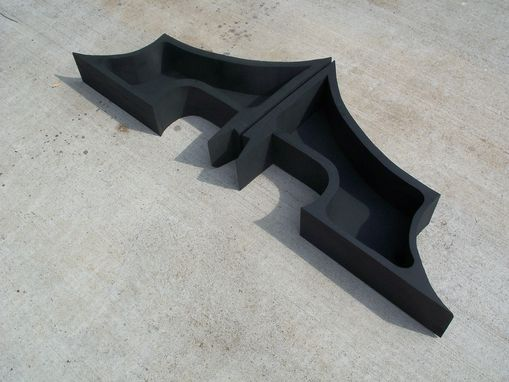 Custom Made Dark Knight Shelf-New Batman