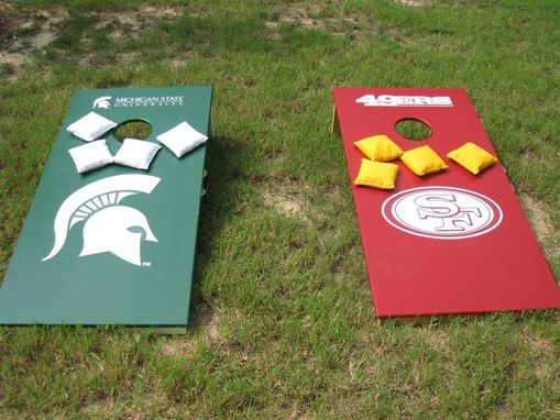 Custom Made Cornhole Or Bean Bag Toss Game