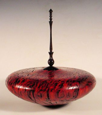 Custom Made Handcrafted Turned Hollow Form Vessel