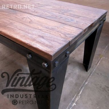 Custom Made Bolted Coffee Table