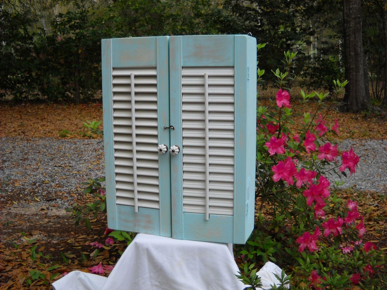 Custom Made Shutter Cabinet