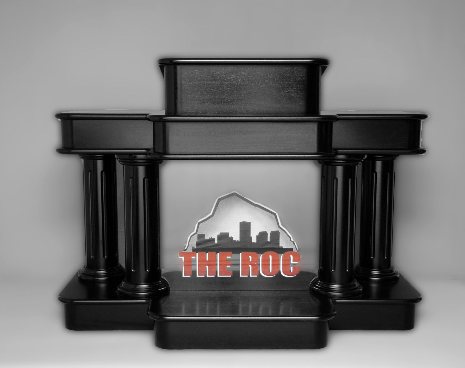 Custom Black Podium Lectern Pulpits By Yoder
