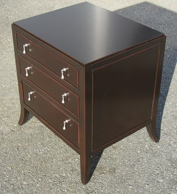 Custom Made Bedroom End Table