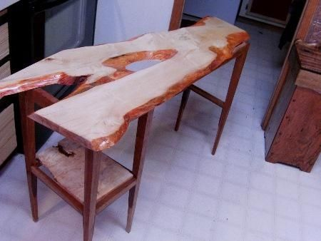 Custom Made One Of A Kind Computer Desk