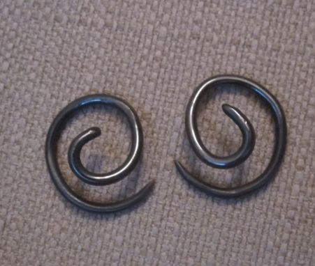 Custom Made Spiral Earrings