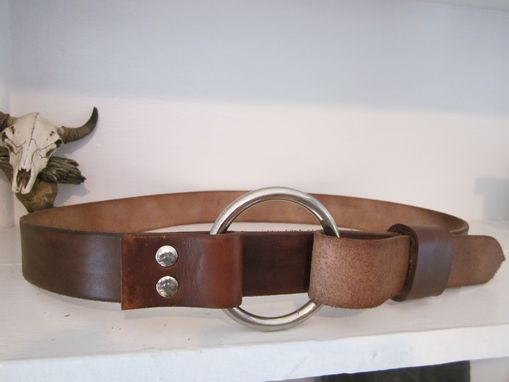 Custom Made Western Cinch Belt