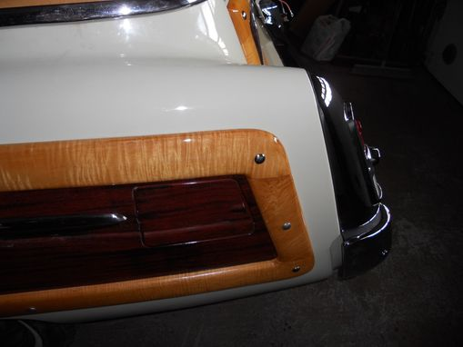 Custom Made 1953 Mercury Woody Wood Trim