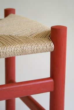 Custom Made Danish Modern Foot Stool