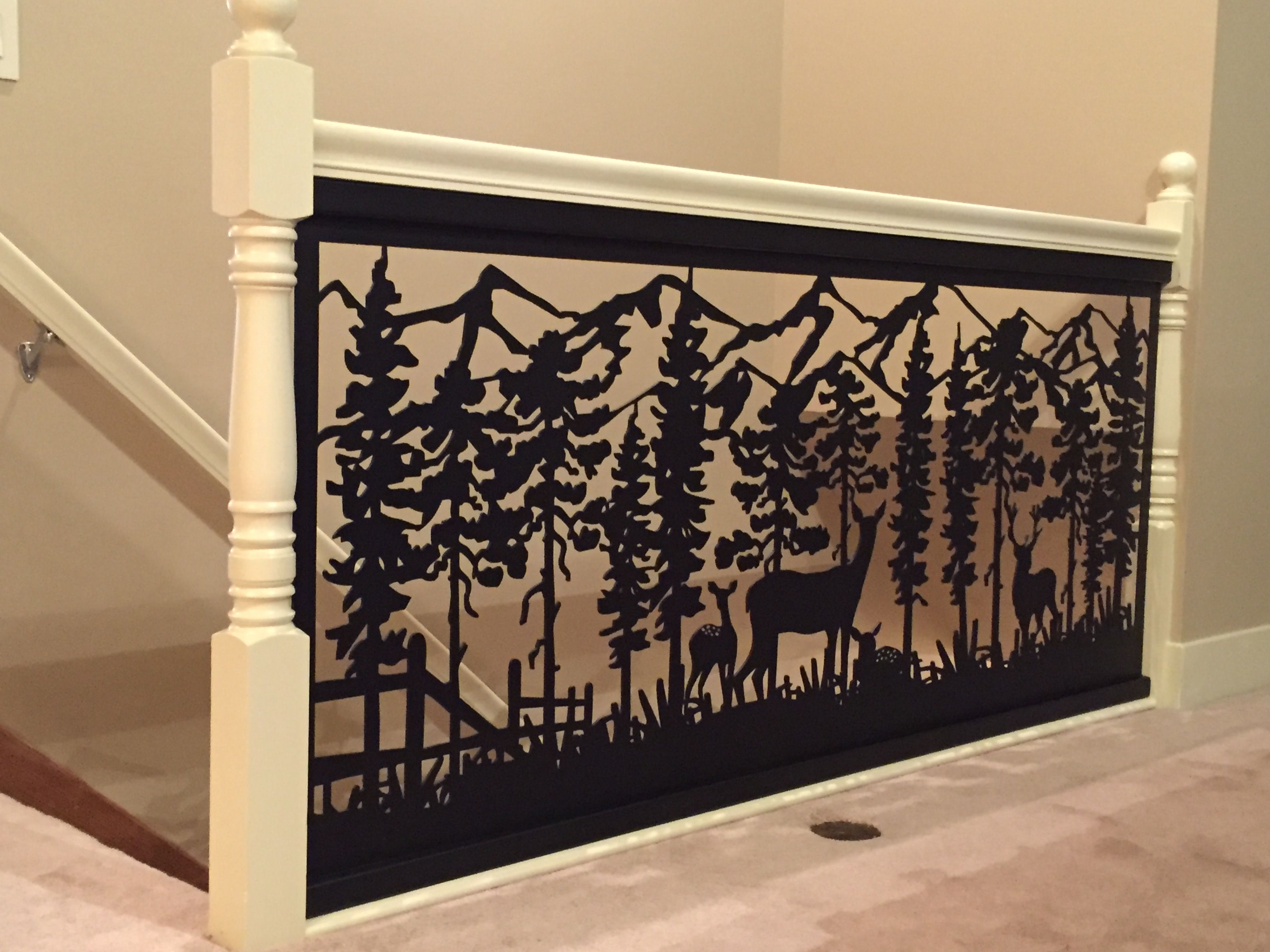 Hand Crafted Railing Art With Custom Installation Design