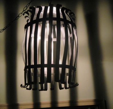 Custom Made Steel Barrel Stave Light