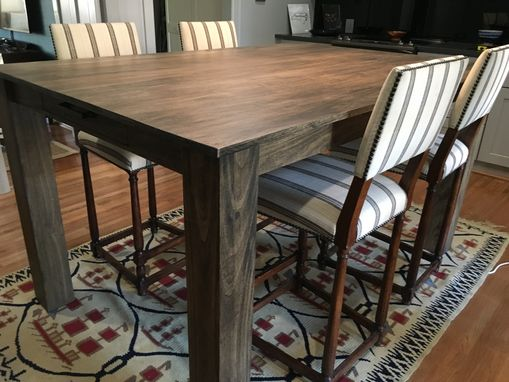 Custom Made Modern Rustic Dining Table