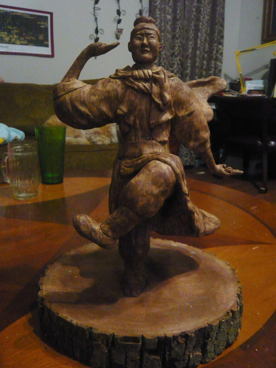 Custom Karate God Busaganashi By Awe Inspiring Art