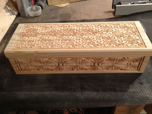 Custom Made Carved Wooden Boxes
