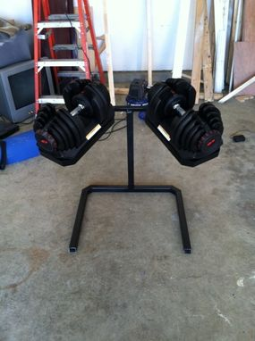 Custom Made Dumbell Holder