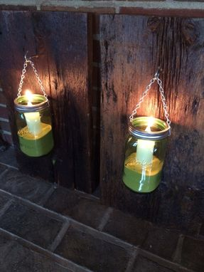 Custom Made Reclaimed Barn Wood Sconces.