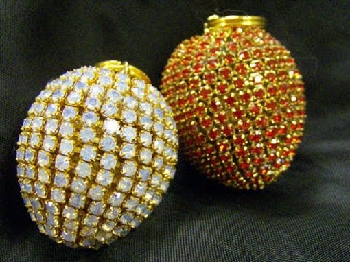 Custom Made Jeweled Quail Eggs