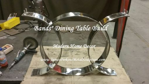 "Custom Made ""Bands"" Dining Table & Conference Table Legs"