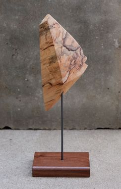 Custom Made Spalted Maple Freestanding Tabletop Sculptures