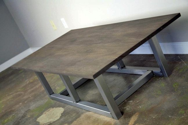 Swell Buy A Hand Crafted Modern Industrial Coffee Table Steel Gamerscity Chair Design For Home Gamerscityorg