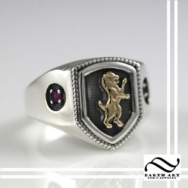 Custom Made Gryffindor House Ring, Harry Potter Inspired