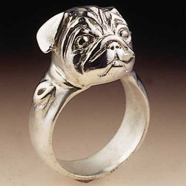 Custom Made Pug Ring