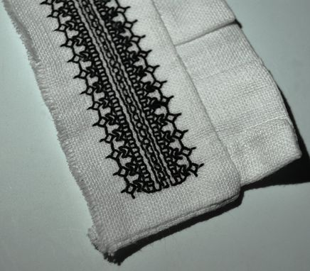 Custom Made Historical Blackwork Embroidery