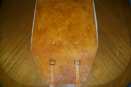 Custom Made Alans Rolled Leather Mason Apron Case