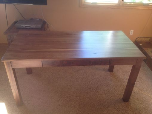 Custom Made Black Walnut Desk