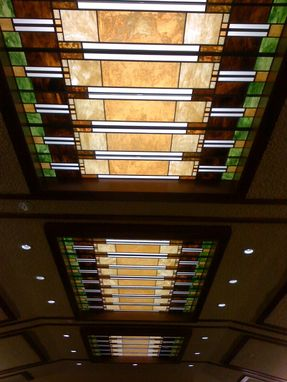 Custom Made Prairie Style Ceiling-Laylight Panels