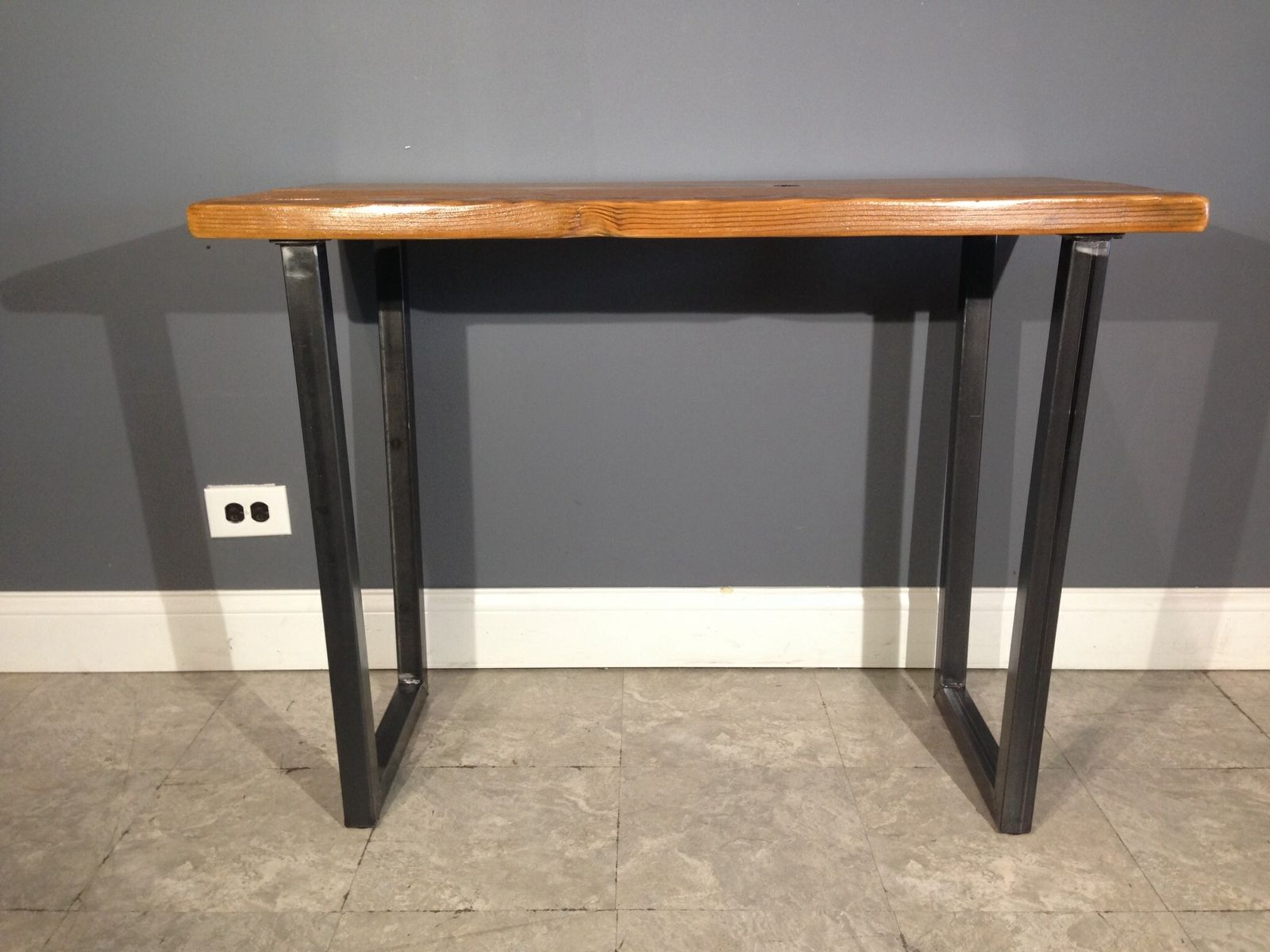 Hand Crafted Salvaged Urban Wood Computer Desk W/ Brooklyn Style ...