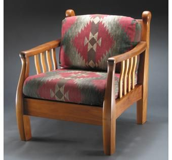 Custom Made Morris Chair Revised