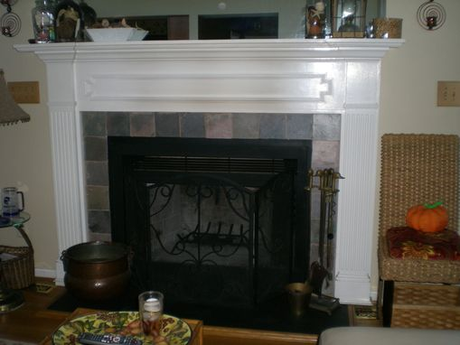 Custom Made Custom Fireplace Mantel