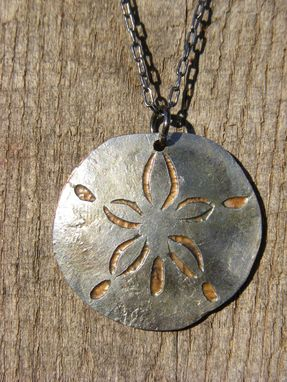 Custom Made Sand Dollar Necklace