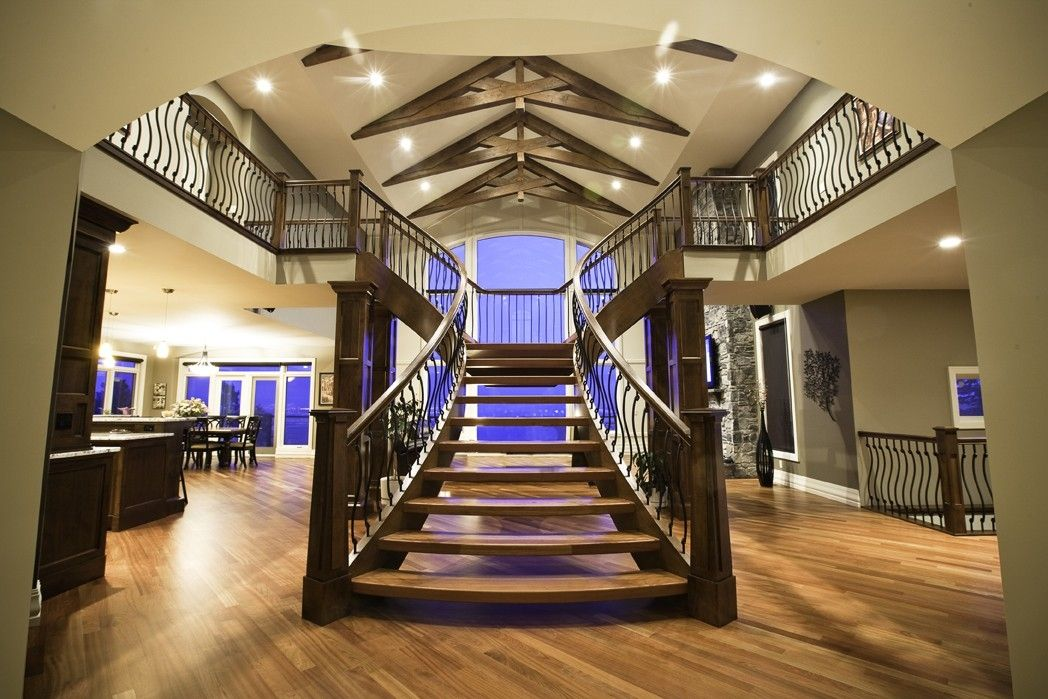 Custom Made Continuous T Shaped Stair By Prestige Railings