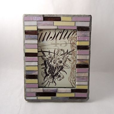 Custom Made Mosaic Picture Frame