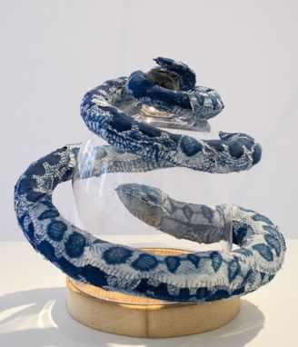 Custom Made Reptiles: Magnetic Cyanotype Sculpture