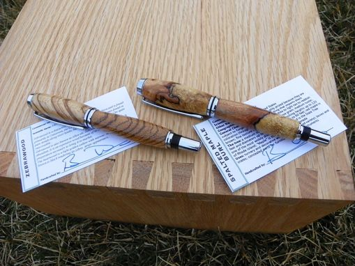 Custom Made Baron Fountain Pen In Many Different Wood Types