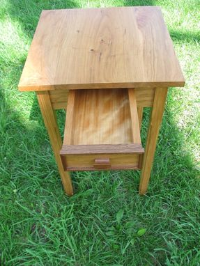 Custom Made Custom Cherry Accent Table