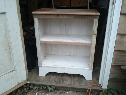Custom Made Salvaged Wood Bookcase