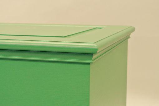 Custom Made Painted Pine Chest