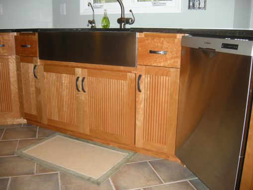 Custom Made Asian Influenced Cherry Kitchen