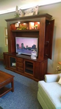 Custom Made Dalton Entertainment Center