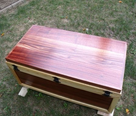 Custom Made Sea Chest - Military Retirement Gift