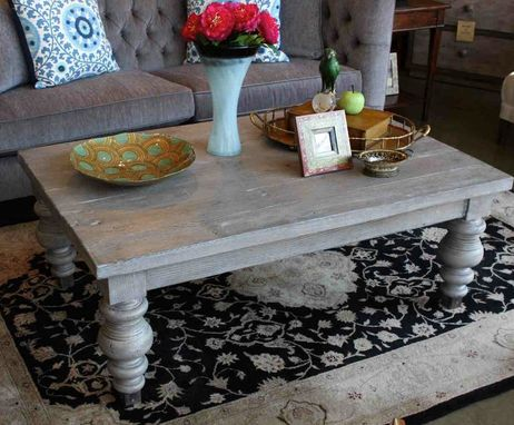 Custom Made Montecito Reclaimed Wood Table