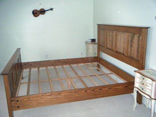 Custom Made King Size Panel Bed