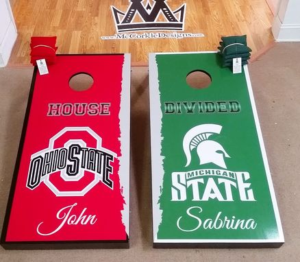 Custom Made Cornhole Boards (Corn Toss) Games !